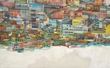 23_Favela 2 Oel_Leinwand 100 x 160cm 2009